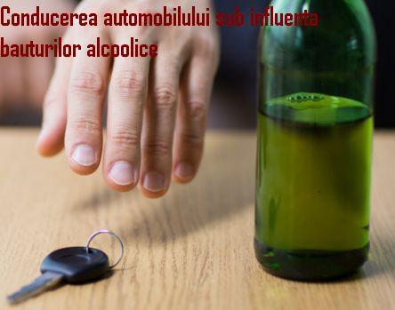 conducere automobil bauturi alcoolice