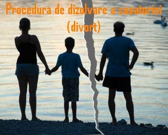 Procedura de dizolvare a casatoriei