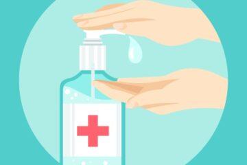 gel dezinfectant de maini
